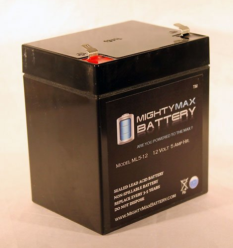 Ml5-12 - 12V 5Ah Replacement Battery For Liftmaster 3850 And 3850P