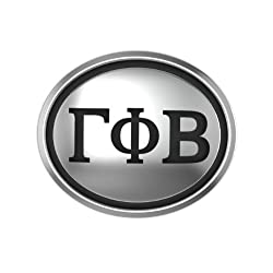 Gamma Phi Beta Oval Sorority Bead Fits Most Pandora Style Bracelets Including Pandora Chamilia Biagi Zable Troll and More. High Quality Bead in Stock for Immediate Shipping