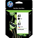 HP 61 (CR259FN) Black/Tri-color Original Ink Cartridges, Combo Pack