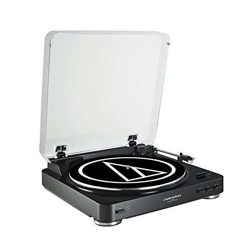 Audio-Technica-AT-LP60BK-Fully-Automatic-Belt-Drive-Stereo-Turntable-Black-Certified-Refurbished