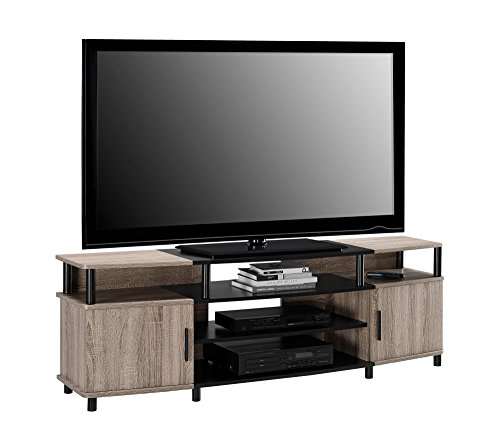 "Altra Carson 70"" TV Stand, Sonoma Oak/Black"