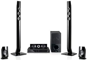 LG HX906PA - Sistema de Home Cinema 5.1 con Blu-ray en 3D y DVD (certificado DivX, USB 2.0, HDMI, WLAN), color negro