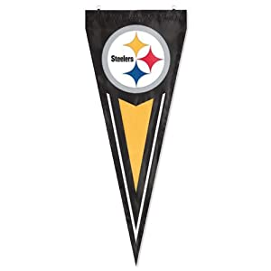 NFL Pittsburgh Steelers Yard Pennant from Party Animal