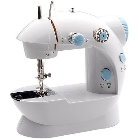 Michley Lil' Sew & Sew Mini Sewing Machine, Double-thread capacity,Hand switch or foot pedal operation (Michley Lil Sew And Sew Bobbins compare prices)