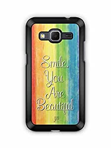 YuBingo Smile. You are Beautiful Designer Mobile Case Back Cover for Samsung Galaxy Core Prime