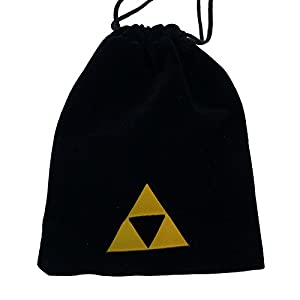 OcarinaWind 6 Hole Zelda Ocarina From Zelda Ocarina of Time,with Zelda Triforce Velvet Pouch,well Designed,easy to Play (Color: Blue)