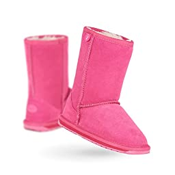 EMU Australia Wallaby LO Boot (Infant/Toddler/Little Kid/Big Kid),Hot Pink,10 M US Toddler