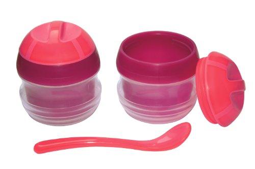 Primamma 002522 - Set ciotoline termiche con cucchiaio, bambina