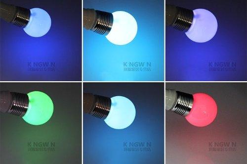 XCSOURCE RGB LED Lampe Licht Dimmbar Leuchtmittel, Lampen 16 Farben multicolor, farbwechsel 3W E27 Strahler, dimmbar + 24 Tasten Fernbedienung für Zuhause Party Dekoration LD229