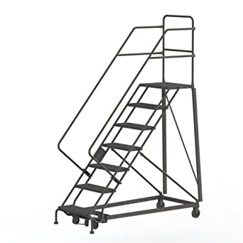Tri Arc Kdhs107242 7 Step Heavy Duty Safety Angle Steel