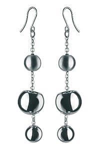 Breil TJ0916 - Pendientes de mujer de acero inoxidable, 8 cm