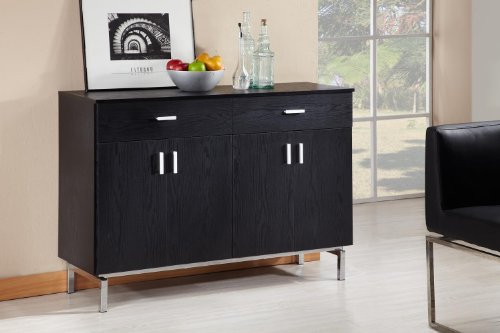Enitial Lab Knox 2-Doors Buffet, Black front-359057
