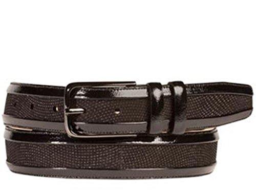 Mezlan Mens Ao10232 Belt , Black, 34 Medium (AO10232)