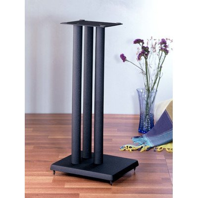 RF series Heavy Duty Speaker Stand in Black - Set of 2 (24 in. H (27 lbs. pair)) (24 Speaker Stands compare prices)