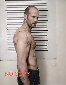 大きな写真、ジェイソン・ステイサム、タトゥーの武骨な一枚