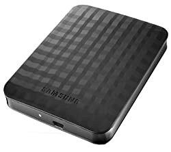 Samsung M3 500GB USB 3.0 Slimline Portable Hard Drive - Black