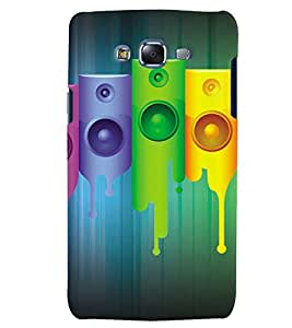 GADGET LOOKS PRINTED BACK COVER FOR SAMSUNG GALAXY J7 MULTICOLOUR