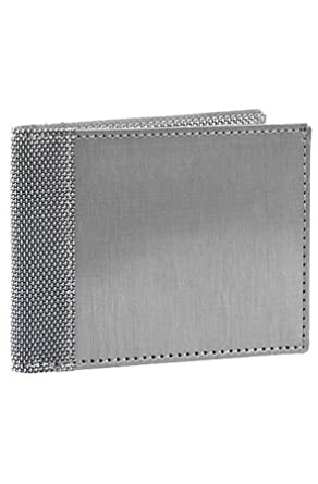 Stewart/Stand Original Slim Bill Fold,Silver,One Size