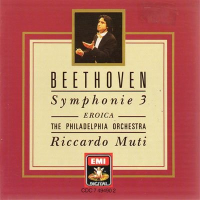 "Beethoven: Symphony No. 3 "" Eroica""; Fidelio Overture; The Consecration of the House"