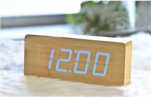 kabb-light-brown-wood-grain-blue-led-light-alarm-clock-time-temperature-and-date-sound-control-lates