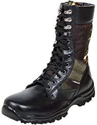 Massimo Italiano Men's Black Leather Boots