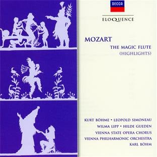 Mozart: The Magic Flute (Highlights) [Canada]