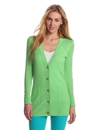 Lilly Pulitzer Women's Long Sleeve Heidi Cardigan, New Green, X-Small