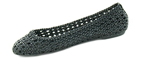 Spot On , Damen Ballerinas Schwarz schwarz, Schwarz - schwarz - Größe: 6 UK