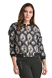 Kazo Women's Varsity Jacket (112709BLACKXS)