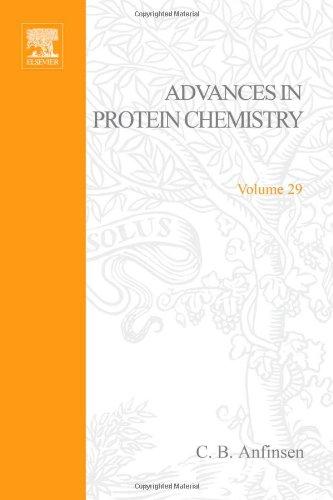 Advances in Protein Chemistry: v. 29