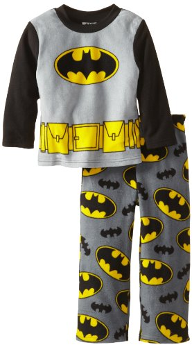 Batman Boys 2-7 2 Piece Fleece Pajama Set at Gotham City Store