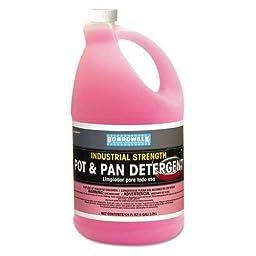 Boardwalk Manual Pot and Pan Dish Detergent, 1gal Bottle, 4/Carton