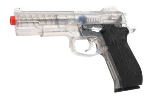 SoftAir Smith & Wesson M4505 Spring Powered Airsoft Pistol (Clear)