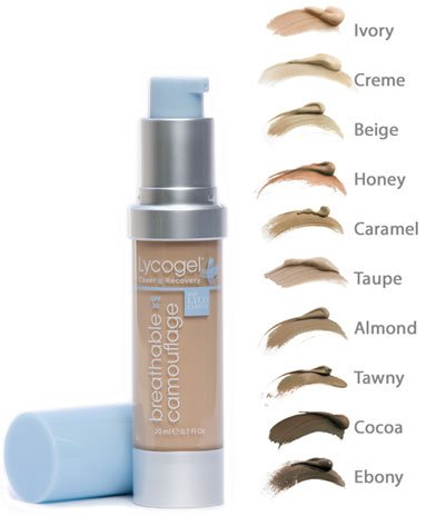 Lycogel Make-Up Breathable Camouflage Foundation 20ml CREAM