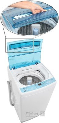 Haier HWM 80-12699 NZP Fully Automatic Top Loading 8 kg Washing Machine (Grey)