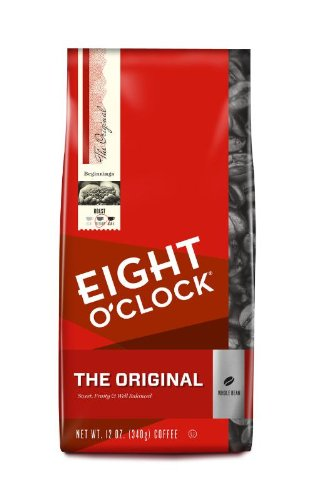 Eight O'Clock Coffee, Original Whole Bean, 12-Ounce Bag (Pack Of 2)