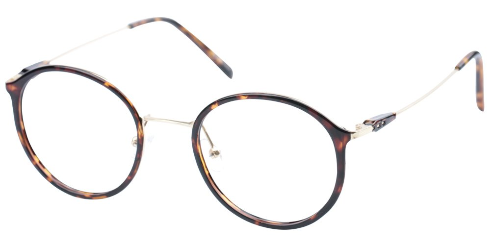 SOOLALA Unisex Vintage Inspired Round Circle Reading Glasses Customized Strengths 2