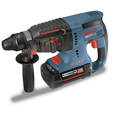 Bosch 11536VSR Litheon 36-Volt Lithium-Ion 1-Inch SDS-Plus Rotary Hammer (Bosch Hammer Drill 36v compare prices)
