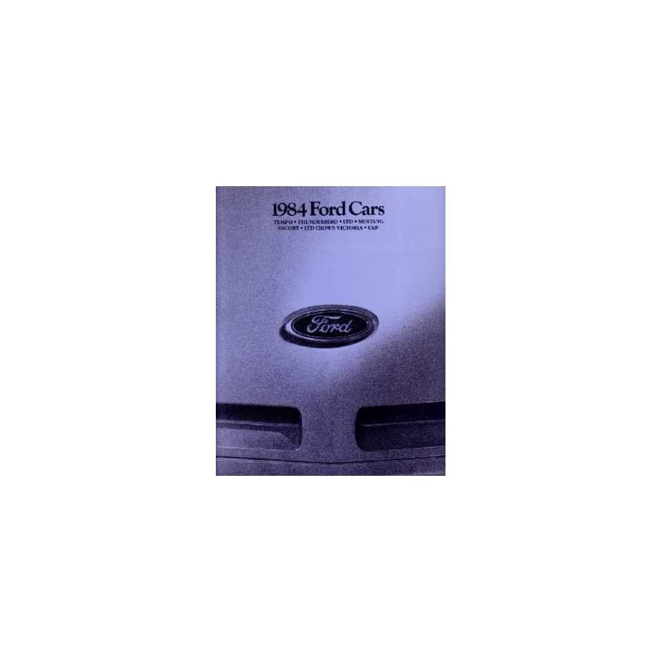1984 Ford Sales Brochure Literature Book Piece Dealer Advertisement