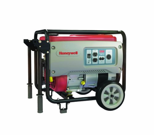 Honeywell 5973 3,250 Watt 208cc OHV Portable Gas Powered Generator