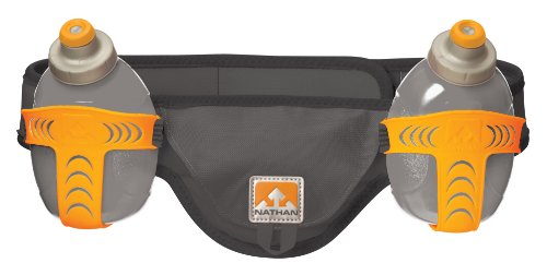 Nathan Speed 2 Hydration Belt, Grey, X-Large
