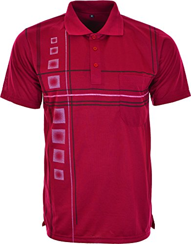 mens-lucky-polo-button-shirts-summer-casual-top-cotton-t-shirt-with-chest-pocket-xtra-large-dark-red