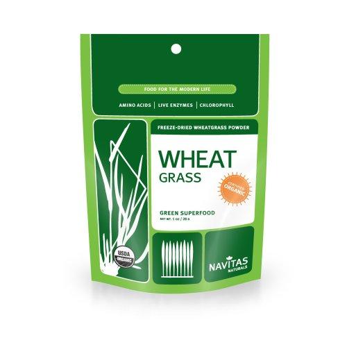 Navitas Naturals Organic Wheatgrass Powder, 1-Ounce Pouches (Wheatgrass Organic Powder compare prices)