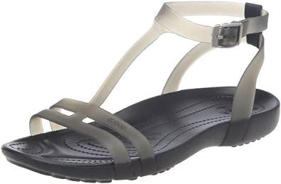 Amazon.com: Crocs Women's Sexi Sandal,Scarlet/Scarlet,4 M US: Shoes