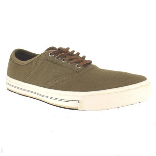 Tommy Hilfiger Gabe Dark Green Mens Sneakers Size 13M