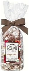 Yummy Earth Organic Candy Drops Gluten Free Ginger Zest 6 oz
