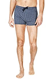 Blue Harbour Checked Swim Shorts