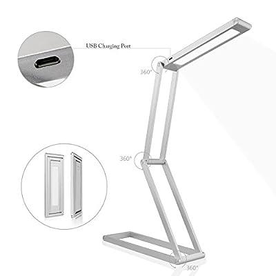 Maxmore Dimmable/Folding/Portable Universal Multifunction Energy Efficient LED Light Desk Lamp Home Decorators