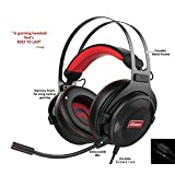 Pro Gaming Headset with Mic (Universal) | Game Changing Premium 3D HD Stereo Sound Video Gamer Wired Headphones for Xbox One, PS4, PC, Laptop and Mobile Device | 3.5mm Connection | HC Gamer Life (Color: Multi, Tamaño: Headset)