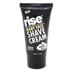 Rise Shave Cream Baby Face 2oz  Sensitive Skin